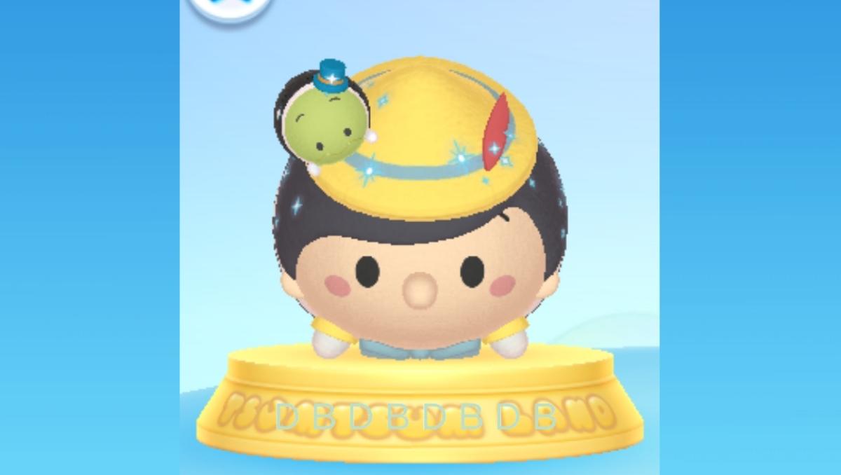 【ツムツムランド】ピノキオ&ジミニー