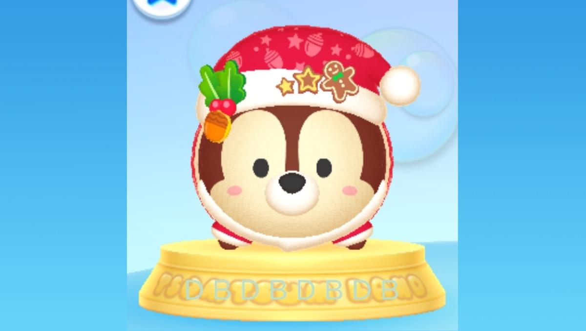 【ツムツムランド】クリスマスチップ2020