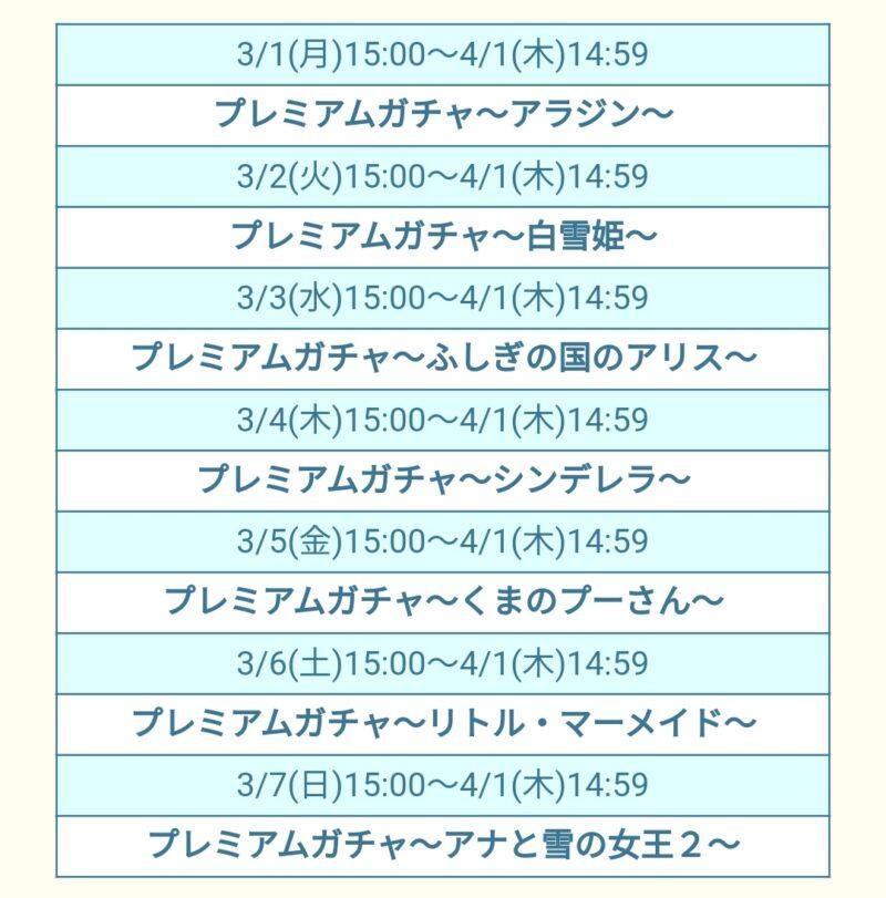 【ツムツムランド】ガチャ~名作映画コレクション