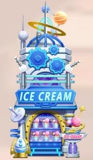 【ツムツムランド】ショップ【アイスクリームショップ】