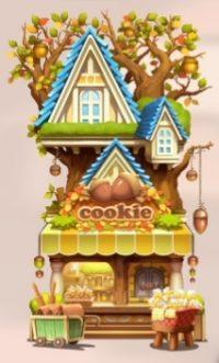 【ツムツムランド】ショップ【チップとデールのクッキーショップ】