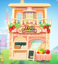 【ツムツムランド】プリンセスのフルーツサンドショップ